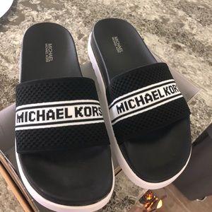 Authentic Michael Kors Sliders